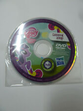 "My Little Pony Friendship Is Magic MLP:FiM Lesson Zero episode promo 3"" mini DVD"