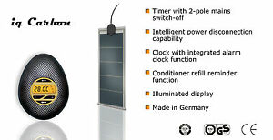 Carbon Digital IQ Waterbed Heater with UK moulded plug - Free first class P & P