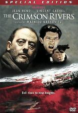 The Crimson Rivers (DVD, 2000 SPECIAL EDITION WS) Jean Reno INSERT INCLUDED NEW
