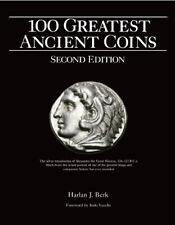 Autographed Copy of 100 Greatest Ancient Coins 2ND EDITION by Harlan J. Berk