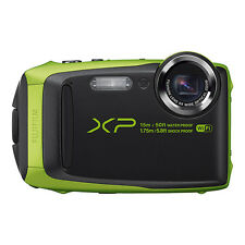 Fujifilm FinePix XP90 16.4MP Digital Camera Lime Full-HD WiFi