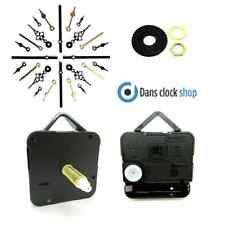 New Replacement Supersize Quartz Clock Movement Mechanism Metal Hands 30mm Shaft