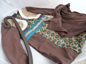 Christmas School Nativity Shepherd Costume Fancy Dress Outfit size 7-8 years