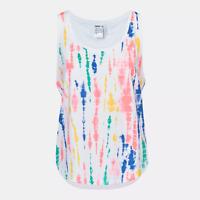 New Adidas Women's Top Size S/ STELLASPORT Tie-Dye Vest/premium sleeveless top