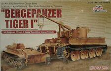Dragon Models 1/35 scale kit 6865,Tiger l Bergepanzer and Borgward IV Ausf. A.