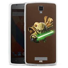 ZTE Blade L5 Silikon Hülle Case Handyhülle - Yoda