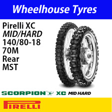 140/80-18 70M Pirelli Scorpion XC Mid/Hard MST
