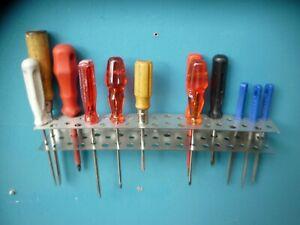 Werkzeughalter Werkzeugständer Werkzeugleiste Werkzeugwand V2A Schraubendreher