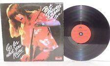 PAT TRAVERS BAND Go For What You Know Live LP 1979 German Pressing Vinyl