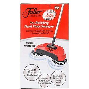 Original Roto Sweep The Rotating Hard Floor Sweeper Cordless AS SEEN ON TV