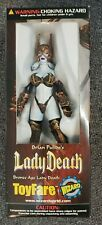 1999 Lady Death Toyfare Exclusive Wizard Bronze Age Action Figure
