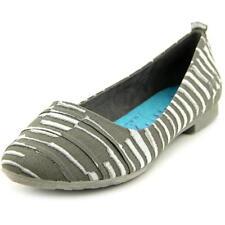 Mocassini e ballerine da donna Pantofole grigio tessile