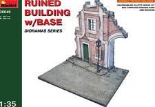 MiniArt Ruinas con Calle Diorama Placa base 1:35 Ruined Building