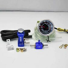 "BOOST CONTROLLER ADJUSTABLE 30PSI BLUE + 2"" DIGITAL LED -30/35PSI BOOST GAUGE"