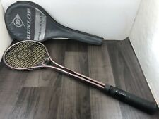 DUNLOP SQUASH RACKET COMPACTA BAT ADULT GRAY CASE NEW GRIP TAPE