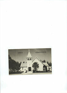 Postcard The Church withe the Lighted Cross Anna Maria Florida