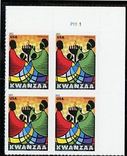 US  4584  Kwanzaa - Forever Plate Block of 4 - MNH - 2011 - P1111  UR