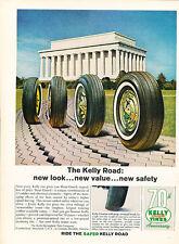 1964 Kelly Tires Washington Monument - Original Advertisement Print Ad J133