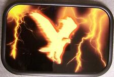 Metal TATTOO belt buckle Flaming Eagle NEW