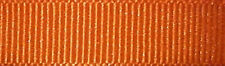 10mm Berisfords Tango Orange Grosgrain Ribbon 20m Reel