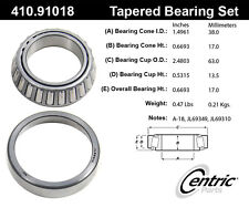Centric Parts 410.91018 Front Inner Bearing Set