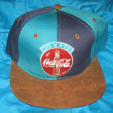 a COKE always COCA COLA  2 tone striped hat adjustable