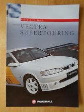 VAUXHALL VECTRA SUPERTOURING Special Edition 1996 UK Market Sales Brochure