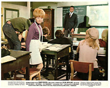 To Sir With Love original lobby card Judy Geeson Lulu Sidney Poitier in class