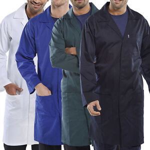 White Navy Maroon Royal Blue Lab Coats Hospitals Cleaning warehouse coats