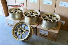 Lenso Project D Spec V Wheels 15x7 +32 4x100 Set of 4 Honda Acura Mazda JDM