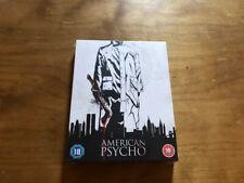 American Psycho 4K Ultra Hd/Blu ray*Steelbook*Region B Pal*Sealed/New*Slipcover*