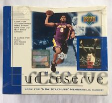 2000-01 Upper Deck Reserve Basketball Factory Sealed Hobby Box