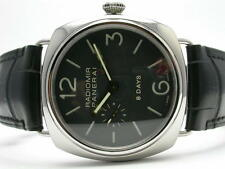 PANERAI LUMINOR RADIOMIR 8 DAYS 45MM AUTOMATIC STEEL MENS WATCH PAM00190