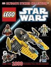 LEGO  Star Wars Ultimate Sticker Collection ALL STICKERS STILL IN BOOK!
