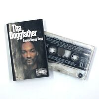 SNOOP DOGGY DOGG Tha Doggfather Cassette Tape 1996 Rap Rare