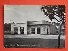 TRIESTE MUGGIA stazione autocorriere filobus autobus bus filovia  cartolina