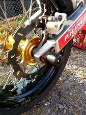 HONDA CRF250 X CRF 450 X CRASH MUSHROOMS REAR AXLE SLIDER BUNGS BOBBINS NEW  S3I