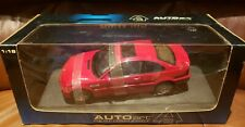 Beautiful BMW E46 M3 Red Car by AutoArt Performance 1:18 Vehicle Boxed Mint