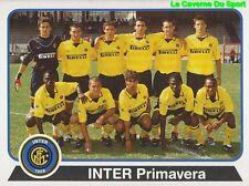 122 SQUADRA TEAM INTER (PRIMAVERA) ITALIA INTER STICKER CALCIATORI 2004 PANINI