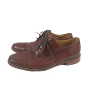 Cole Haan Grand OS Brown Leather Dress Lace Up Driving Loafers Shoes Mens 7.5M