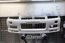 R34 GTR STYLE FRONT BUMPER BODY KIT SUIT NISSAN SKYLINE R34 GT-T COUPE /4 DOOR