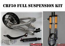 Full suspension kit Forks rear shock swingarm brakes wheels Honda CRF50 CRF 50