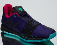 "adidas Harden Vol.3 ""Drew League"" Men's New Purple Black Basketball Shoes B42005"
