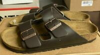NEW - Genuine Birkenstock Arizona BS Birko-Flor Sandals Mocha Brown  - 40 9 #73
