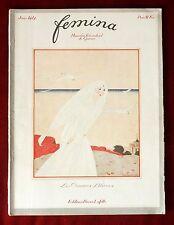 Femina Magazine ~ Juin 1917 ~ Lepape ~ French Fashion Colour Illustrations