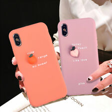 3D Fruit Lovely Phone Case Cover For iPhone 6 7 8 Plus X XS 11 Pro MAX XR