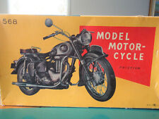 Scarce New WBox  Bandai Meguro Japan 50's BMW 500 Motorcycle Friction 12 inches