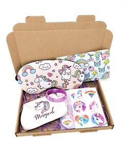 Unicorn Gift Box   Unicorn Eye Mask Purse Stickers Tattoos Girls Birthday Gifts