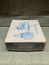 ROLLER SKATES, RIEDELL 220, CENTURY PLATES, GIOTTO WHEELS, WOMENS 6.5, MUST SEE!