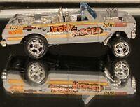 Hot Wheels '64 Nova Wagon Gasser Jerry Rigged Gray /Real Riders Custom CHOPPED